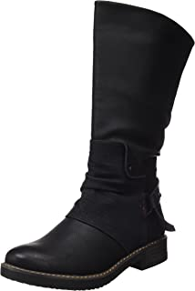 COOLWAY Irby, Botas Chelsea para Mujer, Negro (Black 000), 39 EU
