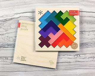 Rainbow Pentomino Puzzle
