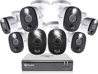 Swann SWDVK-845808WL-AU Swann 8 Camera 8 Channel 1080p Full HD DVR Security System, Grey