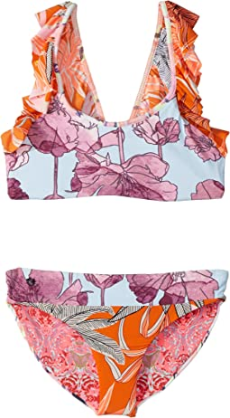 Maaji Kids Pastel Palenque Bikini (Toddler/Little Kids/Big Kids)