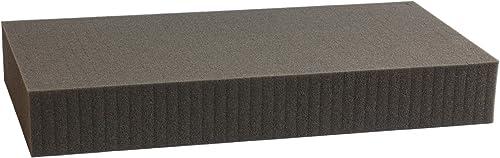 1000 mm x 1000 mm x 70 mm Rasterschaumstoff Würfelschaum - RasterWeiße 20 mm