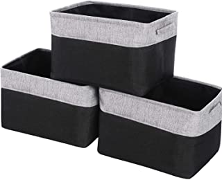 WEHUSE Large Storage Baskets for Shelves, 15.8 L x 12 W x 10 H Inches Clothes Bins for Closet Organizer, Set of 3
