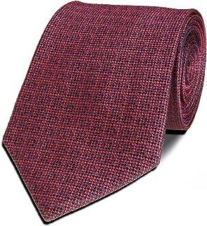 Bergamo Silk Necktie for Men - Red Burgundy Color