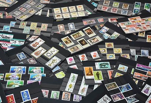 Goldhahn DDR KomlettSätze gestempelt auf über 130 Stückkarten Briefürken für Sammler