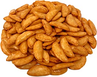 Asian Chili Crescent Bits, Rice Crackers, Crunchy & Spicy!!! (1 LB)