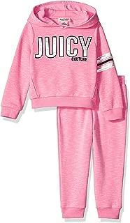 Juicy Couture 橘滋 女童连帽衫裤子 2 件套