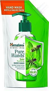 Himalaya Pure Hands | Purifying Tulsi Hand Wash Refill - 750 ml