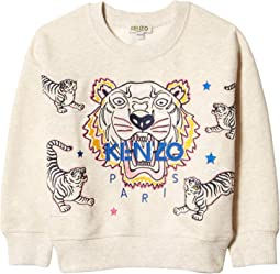 Iconic Tiger Sweatshirt (Toddler/Little Kids)