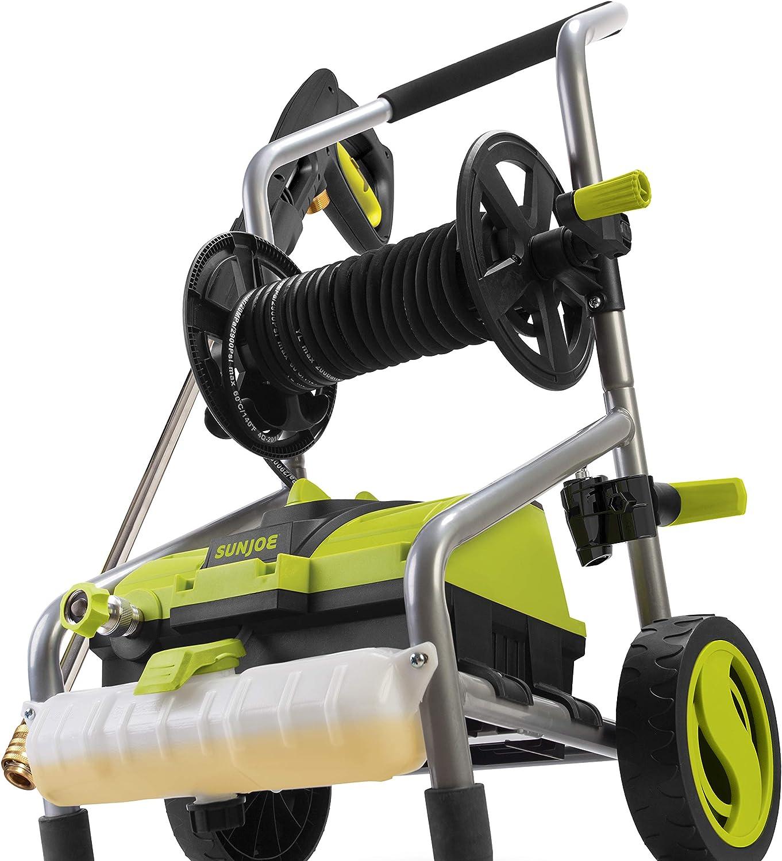 Sun Joe: 2030 MAX PSI 1.76 Electric Pressure Washer and Hose Reel! 9.99 (REG 9.99) at Woot!