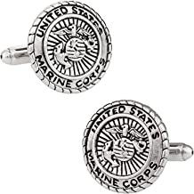 Cuff-Daddy USA Military Cufflinks for Veterans with Presentation Box