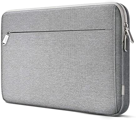 Inateck 360° Protección 12,3-13 Pulgadas Funda Surface Pro 3/4/5/6, Macbook Pro 13 2016-2018, Macbook Air 13 2018 maletín Sleeve Case, Gris Claro