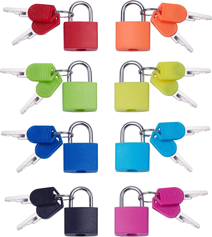 Max 73% OFF Key Lock 8 Pack Mini Padlock Japan Maker New School Home with Essentials