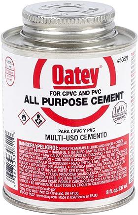 Oatey 30821 Cement 8-Ounce Milky-clear