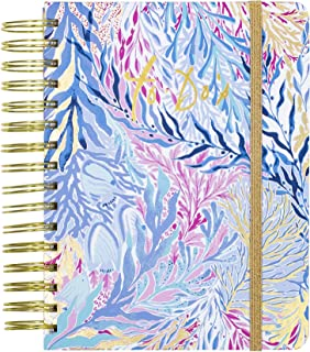 Lilly Pulitzer Women's To Do Planner Kaleidoscope Coral One Size