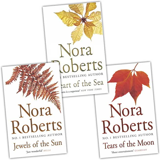 Nora Roberts Irish Trilogy 3 Books Collection Pack Set (Tears of the Moon, He...