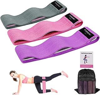 comprar comparacion TTMOW Bandas Elasticas Gluteos,Bandas Elásticas Musculacion Para Fitness Con 3 niveles Para Fitness