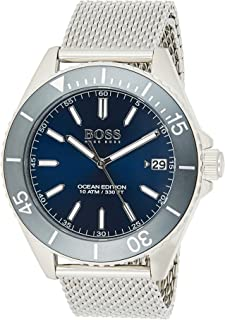 Hugo BOSS Unisex-Adult Analogue Classic Quartz Watch with Stainless Steel Strap 1513571