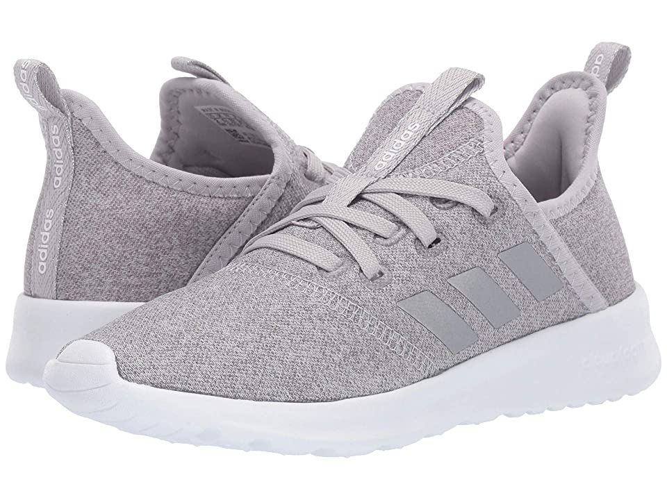 adidas Kids Cloudfoam Pure (Little Kid/Big Kid) (Grey Two/Silver Metallic/Footwear White) Kid