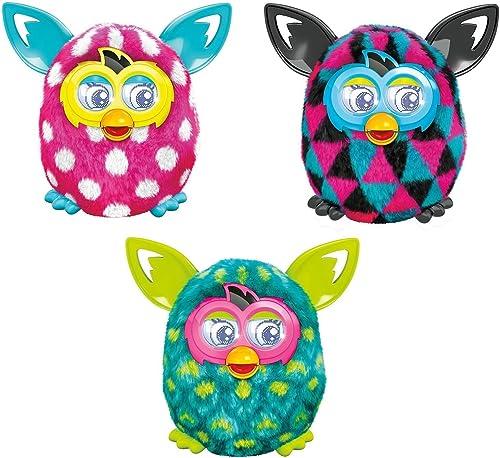 Desconocido Furby Boom Elektronische Maskottchen mit Motiv Pfau (Hasbro)