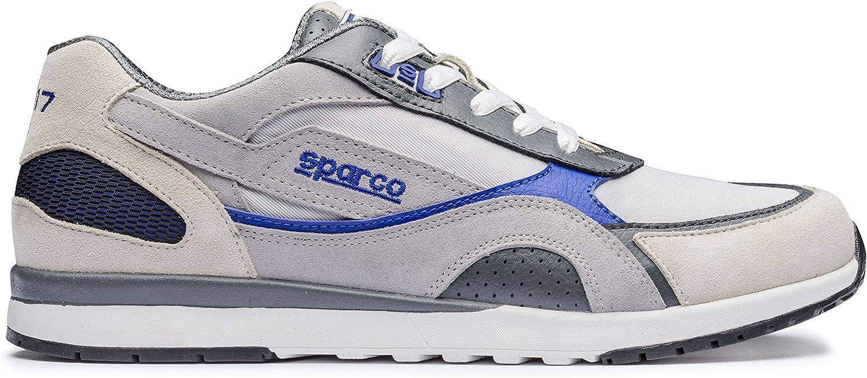 Sparco 00126241SIAZ Schuhe, Größe 41 Sh-17 Silber Blau,