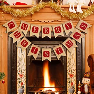 Best country christmas fireplace decorations Reviews