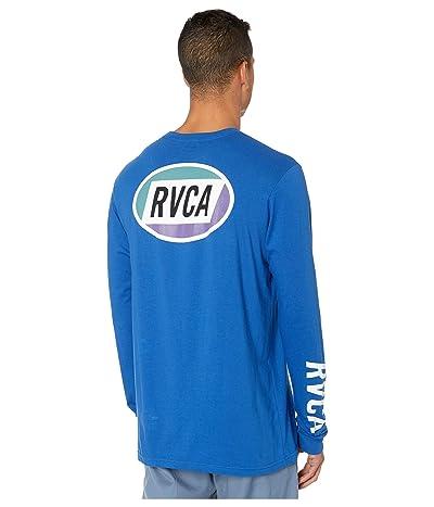 RVCA Cortex Long Sleeve T-Shirt (Bright Blue) Men