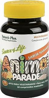 Nature´s Plus Animal Parade Multivitamínico Naranja - 60 Comprimidos