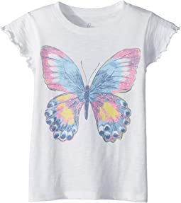 PEEK - Butterfly Tee (Toddler/Little Kids/Big Kids)