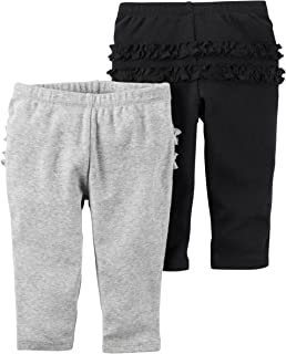 Baby Girls' 2 Pack Pants (Baby)