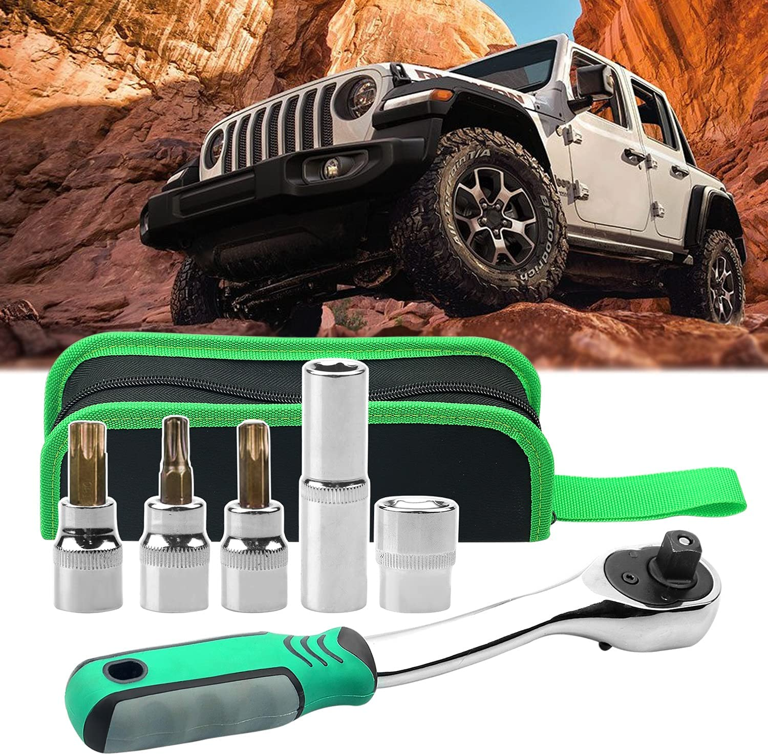 For Jeep Wrangler Accessories Torx Spring new work one after another Bargain sale Tool Door Top Soft R Hard Kit
