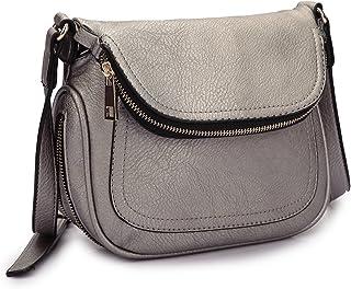 Lady Lightweight Crossbody Bags for Women Small Crossbody Purses Travel Bags  Soft Shoulder Bags Vegan Leather 9fd7fe2d010ca