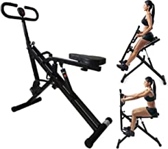 TOTAL CRUNCH Power Rider Full Body Ab Fitness Included Monitor and Hydraulic Cylinder Resistance