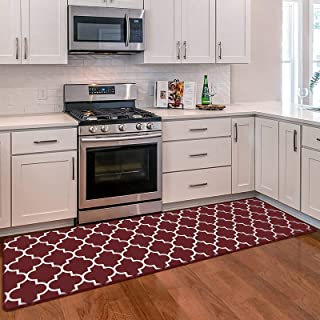 Amazon Com Red Kitchen Rugs Kitchen Table Linens Home Kitchen
