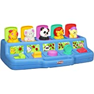 Playskool Poppin' Pals Pop-up Activity Toy for Babies and Toddlers Ages 9 Months and Up (Amazon...