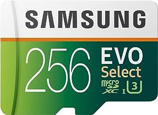 SAMSUNG EVO Select UHD - Tarjeta de Memoria con Adaptador, 256 GB