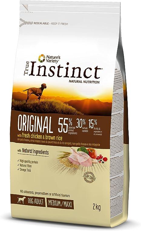True Instinct Original - Natures Variety - Pienso para Perros Medium Adult con Cordero - 12kg