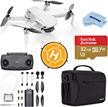DJI Mavic Mini Drone FlyCam Quadcopter with 2.7K Camera 3-Axis Gimbal GPS, 30-Minutes Flight Time, Basic Bundle with Case,...