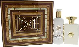 Amouage (FI00Y) Honour Eau de Perfume Spray with Shower Gel Gift Set for Men, Pack of 2