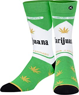 Odd Sox, Unisex, Graphic, Drugs, Crew Socks, Novelty Silly Crazy Cool Dope Funny