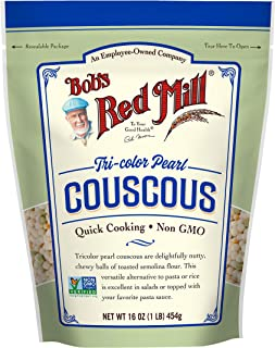 Tri-Color Pearl Couscous (16 Ounce (Pack of 4))