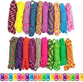 Best 2 color paracord bracelet with knot Reviews