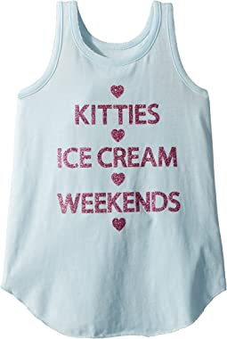 Extra Soft Kitties & Weekends Tank Top (Little Kids/Big Kids)