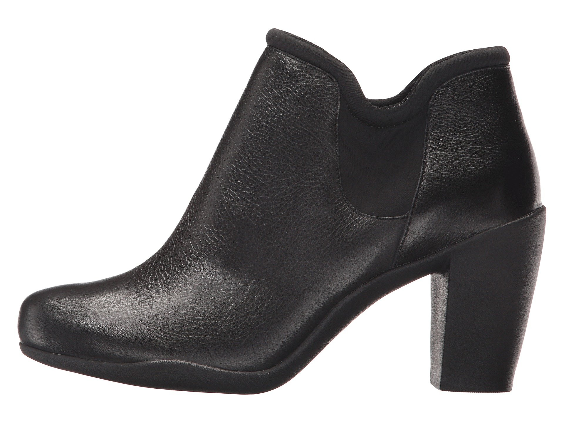 Clarks Adya Bella Black Leather mmSPUhz