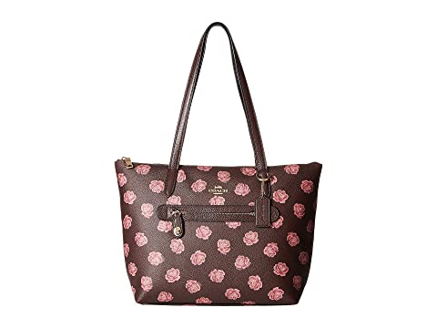 12ad277909303 ... italy coach taylor tote in floral printed leather e4a40 746b3