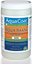 Aqua Thane Top Coat, Water-Based Wood Finish (Satin)