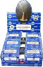 Nag Champa Satya Sai Baba Temple Incense Cones Carton 12 Box