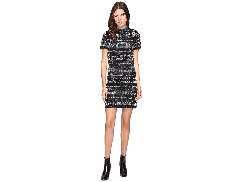 Kate Spade New York Textured Knit Dress (Black) Women