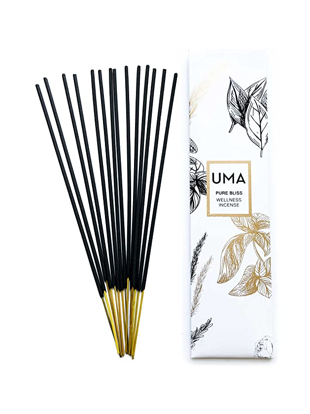 ニュージーランド送料ポータブルUma Pure Bliss Wellness Incense、15?Sticks