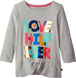 Tommy Hilfiger Kids - Love Hilfiger Tee (Big Kids)