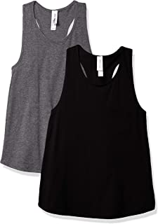 Marky G Apparel Girls' Relaxed Racerback Tank